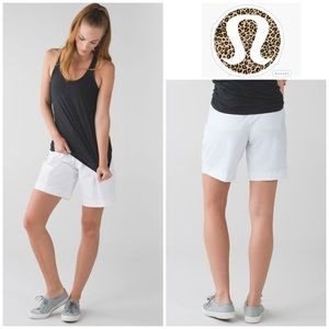 RARE Lululemon Long Story Short in White